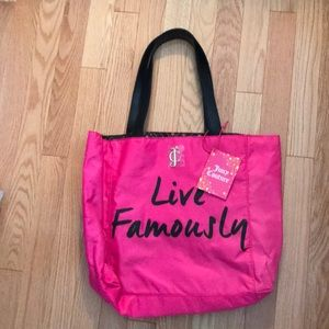Never used juicy couture bag